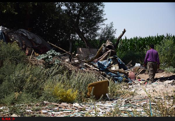 تخریب زاغههای مهاجران و کودکان ناپدید شده*