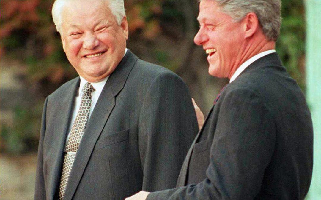 اسناد کمک کلینتون به پیروزی یلتسین در انتخابات