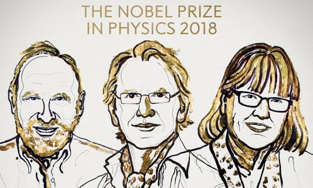 جایزه نوبل فیزیک برای جابجا کردن اجسام فیزیکی به کمک لیزر