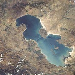 حذف نقشه دریاچه ارومیه از کتابهای درسی و اسناد سازمان ثبت