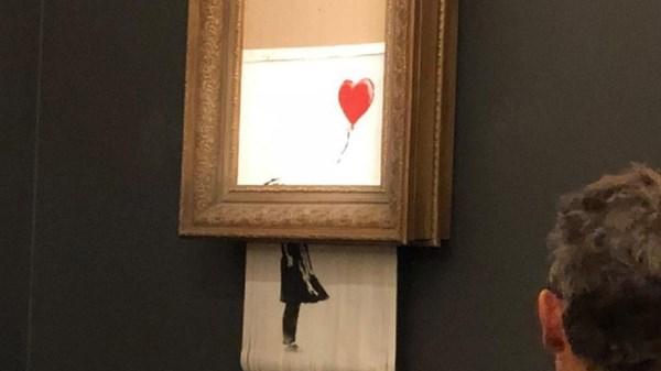 شوخی جدید بنکسی با دنیای هنر