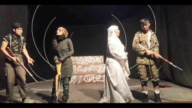 یک اجرای تئاتر به دلیل مختلط بودن بازیگران لغو شد