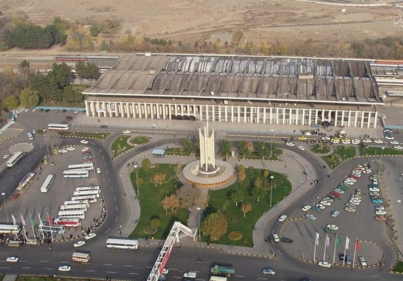 بازرسی معلولان از میدان راه آهن مشهد