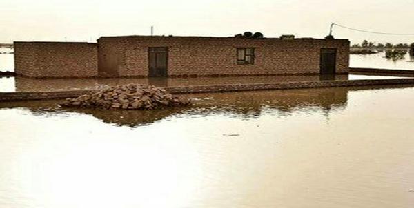 چهار روستای هیرمند دچار آب گرفتگی و تخلیه شدند