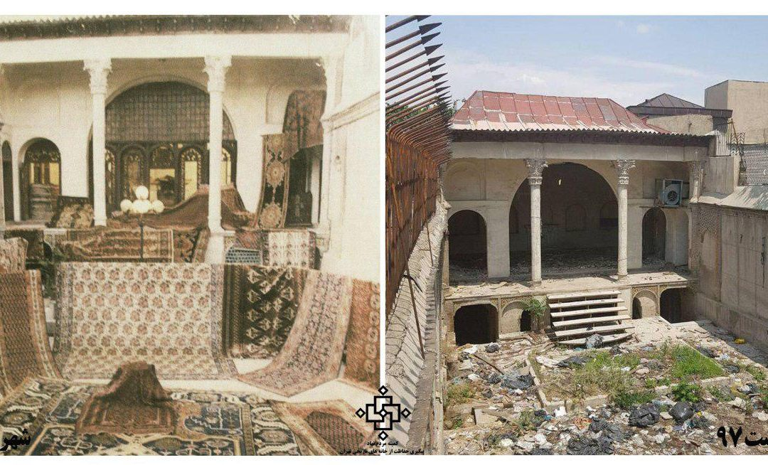 به جای خانه قاجاری حساملشکر پاساژ ساخته میشود