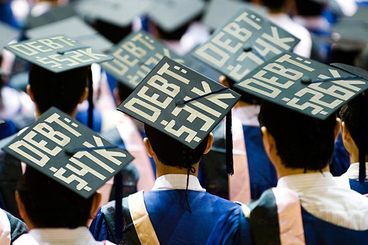 پرداخت وام دانشجویی در آمریکا، ز گهواره تا گور