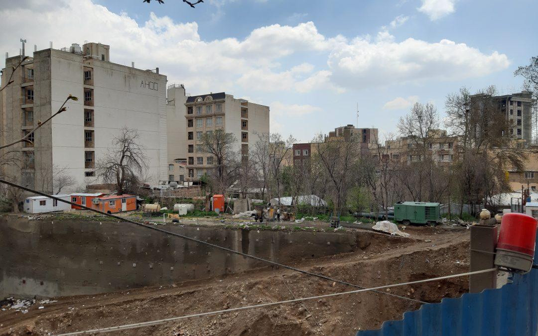 یکی از «۶۲ باغ» در نیاوران تهران فرونشست