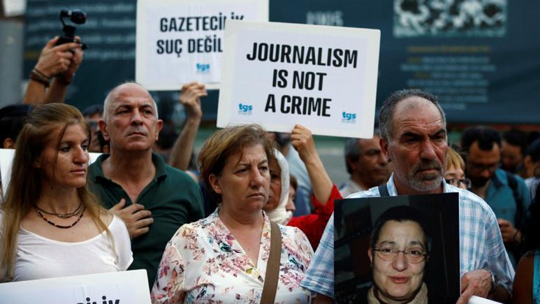 تهیه «فهرست سیاه» روزنامهنگاران در ترکیه