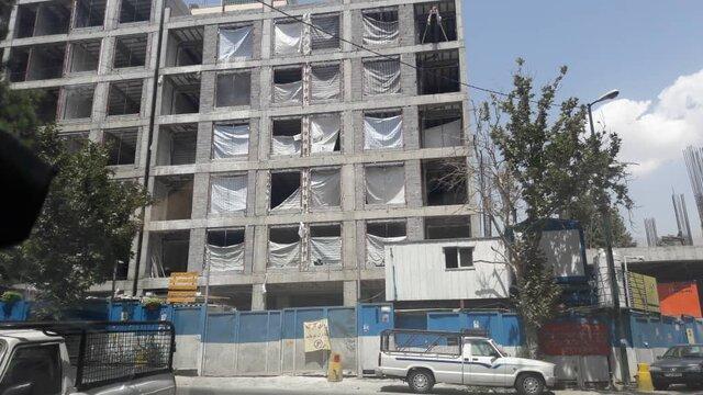 علیرغم حکم تخریب برج-حسینیه، ساختوساز ادامه دارد