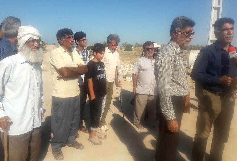 مخالفت اهالی گناوه با اجرای یک طرح مخرب محیطزیست