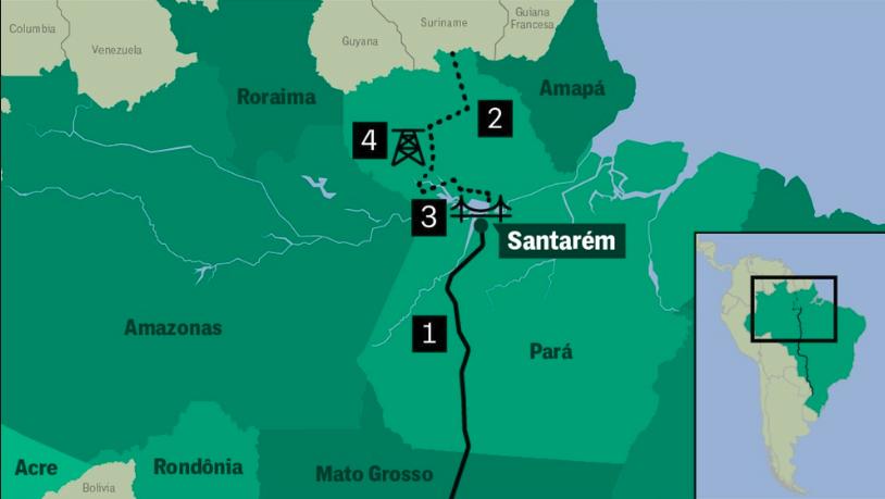 تلاش برزیل برای اشغال مجدد آمازون
