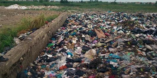 رودسر غرق در زباله