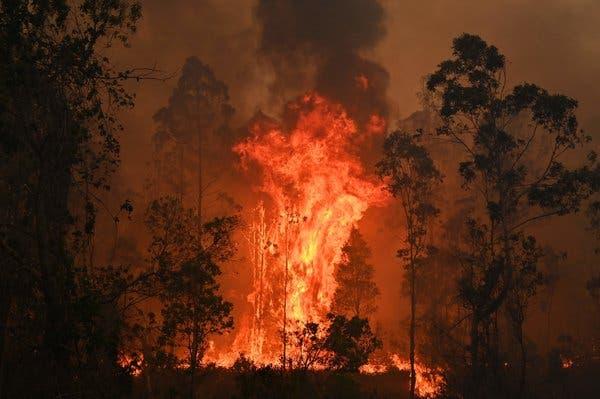آتشسوزی بیسابقه در استرالیا
