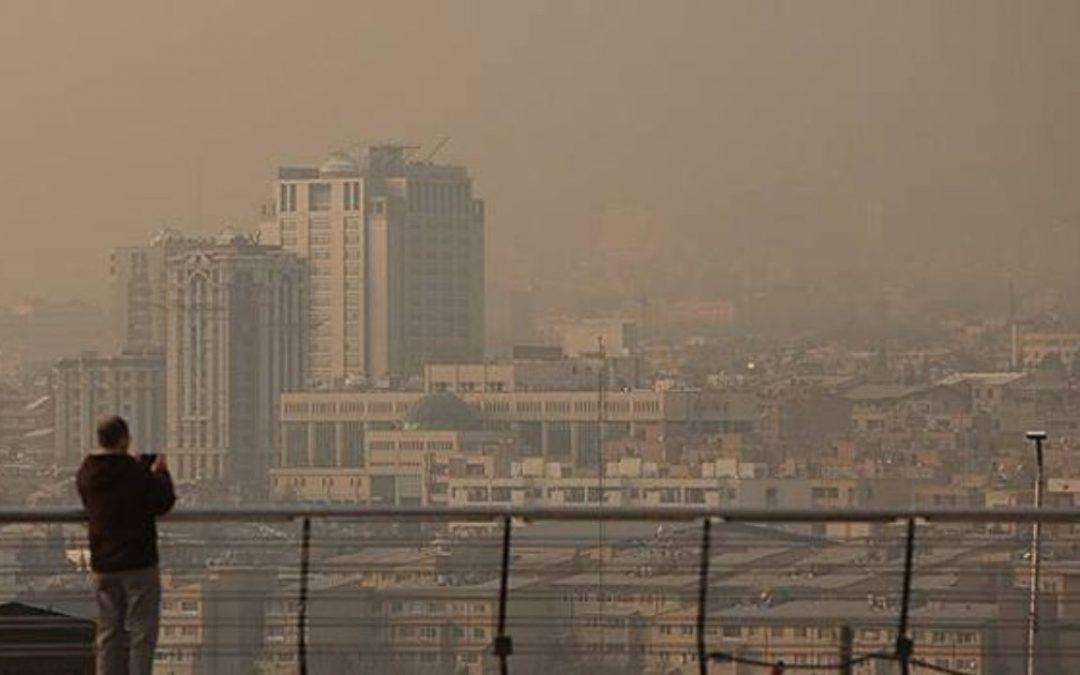 غلظت دیاکسید گوگرد تهران یک ساعته ۳۰ برابر شد