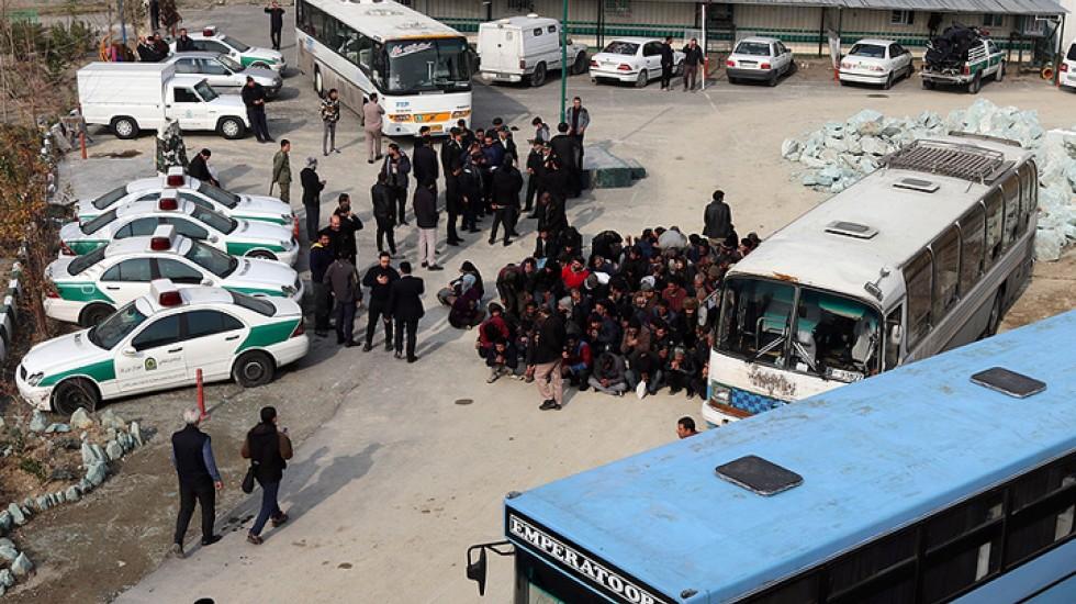 دستگیری ۶۵۰ نفر در «پاکسازی» دره فرحزاد