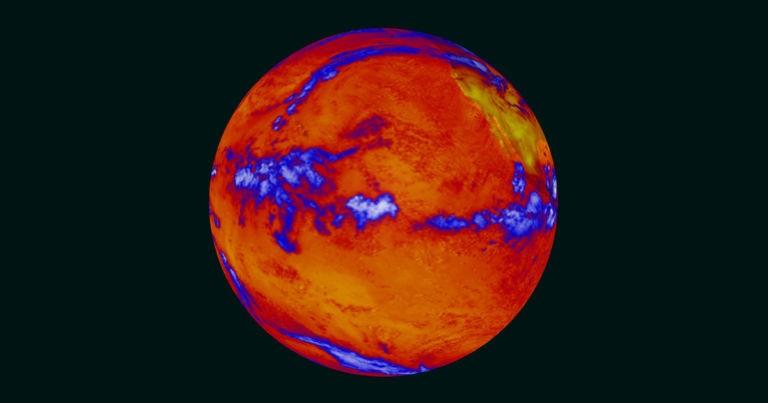 گرمایش اقیانوسها به اندازه پنج بمب اتم بر ثانیه