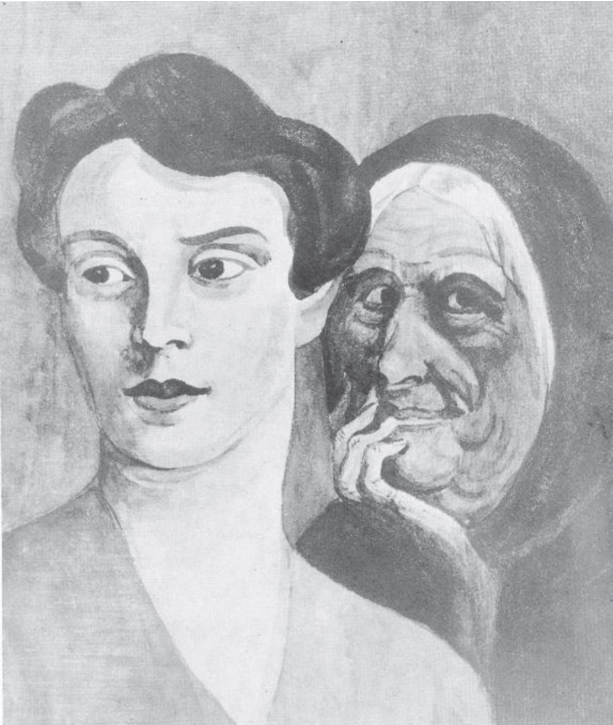 درکِ گذشتهشخصیِمان در تفسیرهایی که از تصاویرِ مبهم داریم: هِنری موری، آزمونِ درکِ شخصی، ۱۹۴۳.