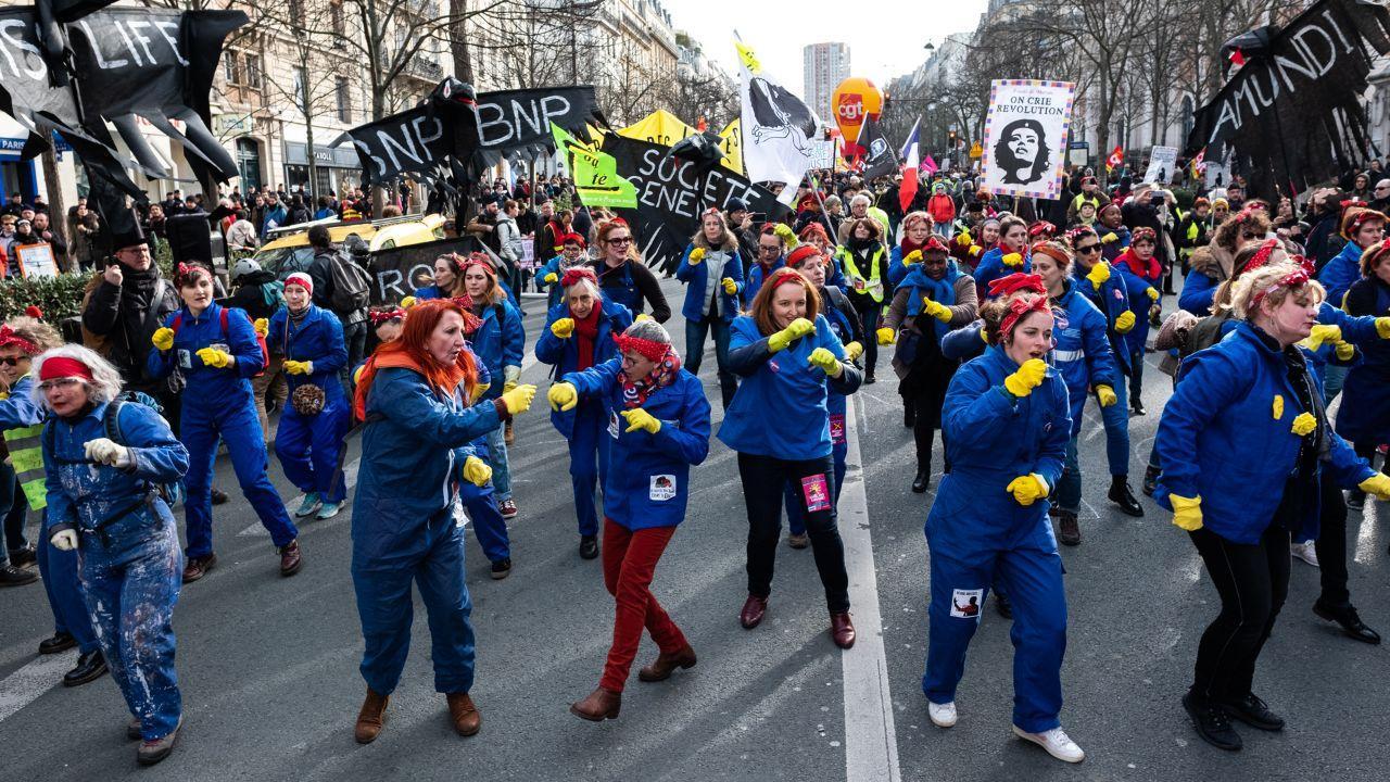 کرونا، زنکُشی و ۸ مارس در فرانسه