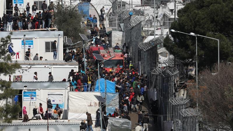 کرونا و کمپهای پناهجویان در یونان