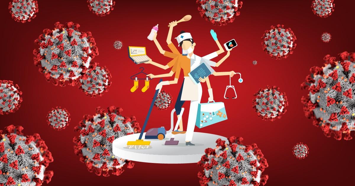 ویروس کرونا چگونه به زنان در آسیا ضربه میزند؟