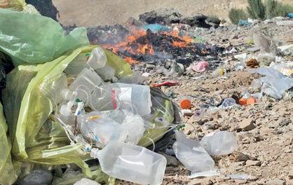عاقبت زبالههای بیمارستانی تهران