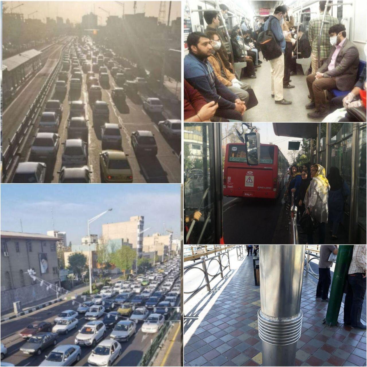 فاصلهگذاری اجتماعی به سبک دولت ایران