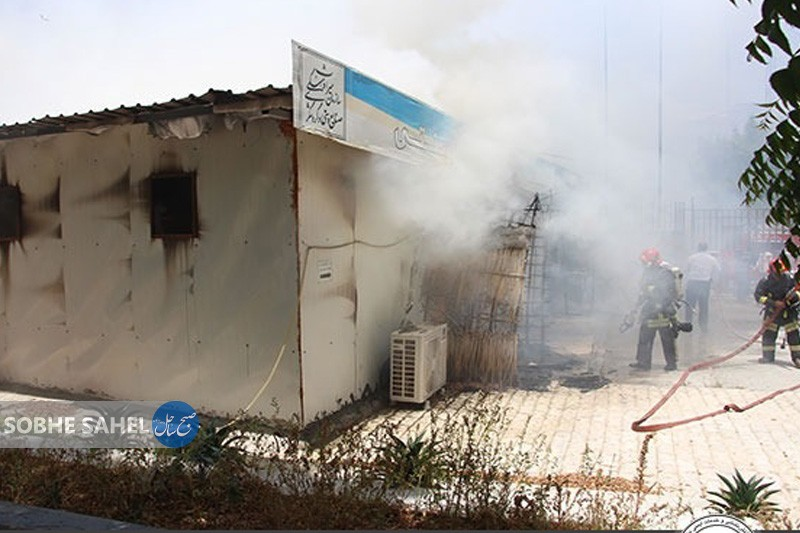 آتشسوزی در معبد هندوهای بندرعباس