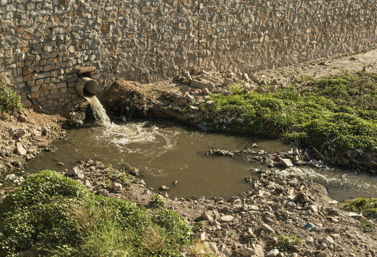 بیشتر فاضلاب کرمانشاه به رودخانهها میریزد