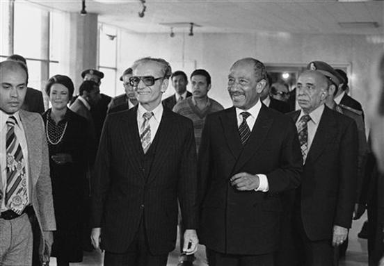 محمدرضا پهلوی و پیمان صلح میان مصر و اسرائیل