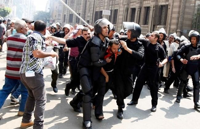بازداشت صدها معترض در جریان تظاهرات در مصر