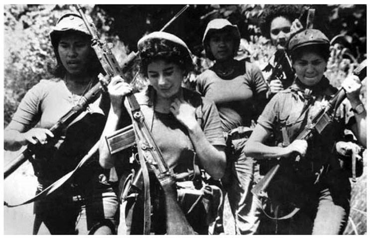 داستان حق خواهی زنان نیکاراگوئه در انقلاب ساندینیستا