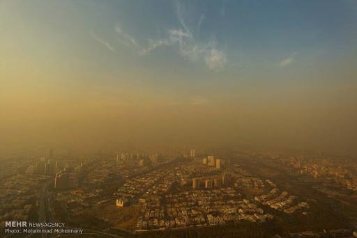 افزایش ۲۱ درصدی انتشار ذرات معلق در تهران