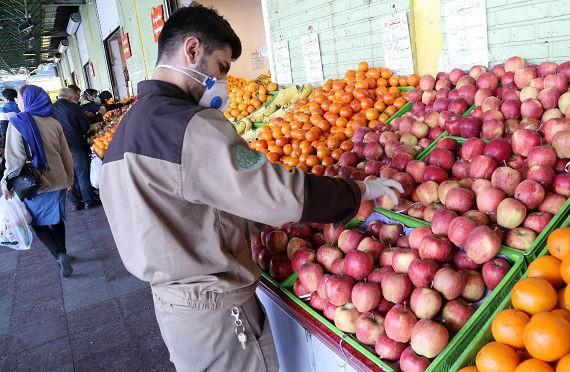 کارگران میادین میوه و تره بار