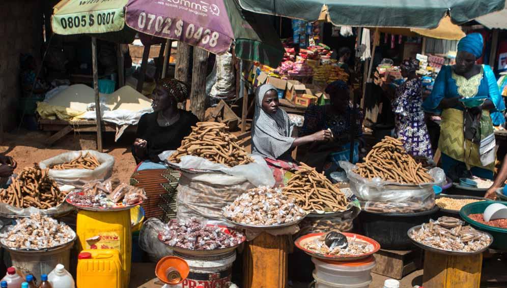 زنان اغذیه فروش در آفریقای جنوبی