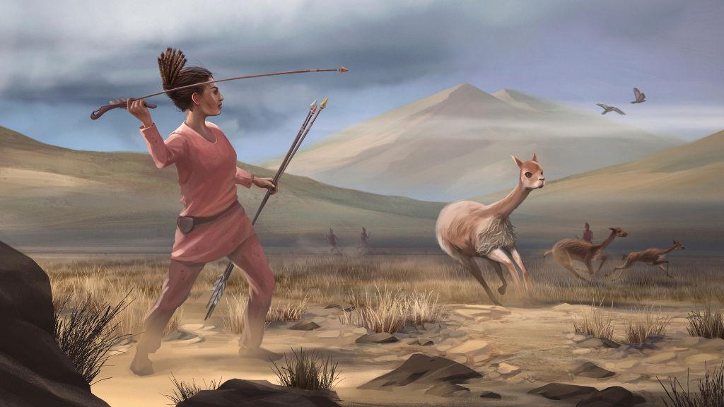 زنان و مردان در دوران باستان به یکمیزان شکارچی بودهاند