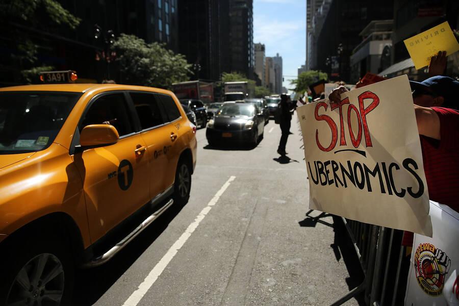 تلاش تعاونی رانندگان نیویورک برای غلبه بر استثمار اوبر