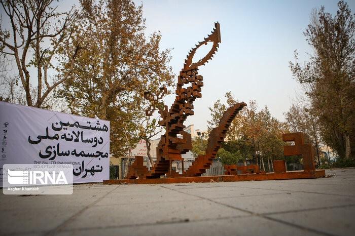 بازگشایی دوسالانه مجسمهسازی بعد از پاکسازی
