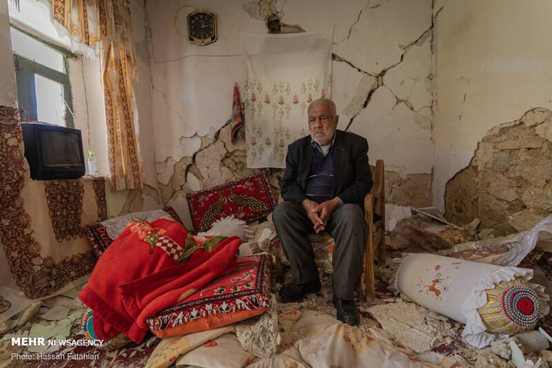 کسی برای زلزلهزدگان سیسخت نامه نمینویسد