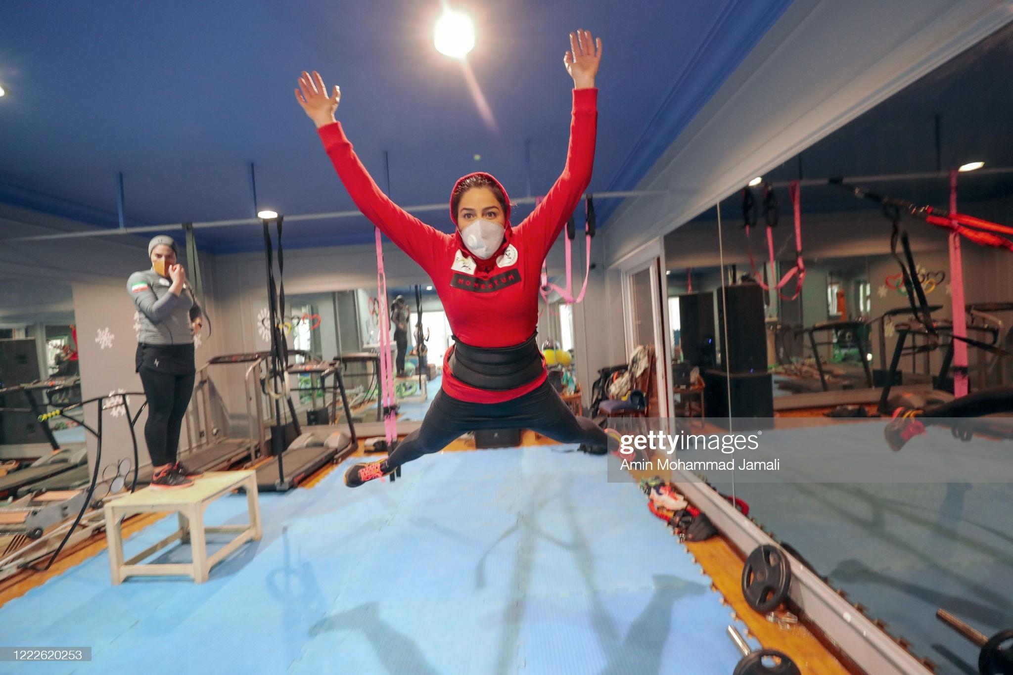 ممنوعالخروجی سرمربی تیم ملی اسکی زنان توسط شوهرش