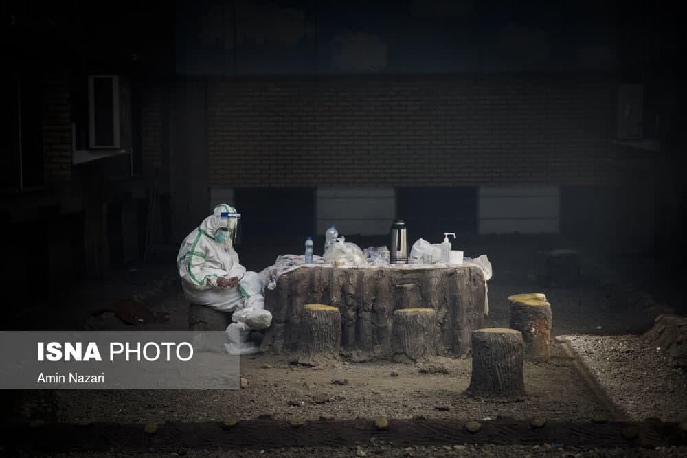 پرسنل بخشهای ویژه خوزستان در استرس مرگ و میر بالای بیماران