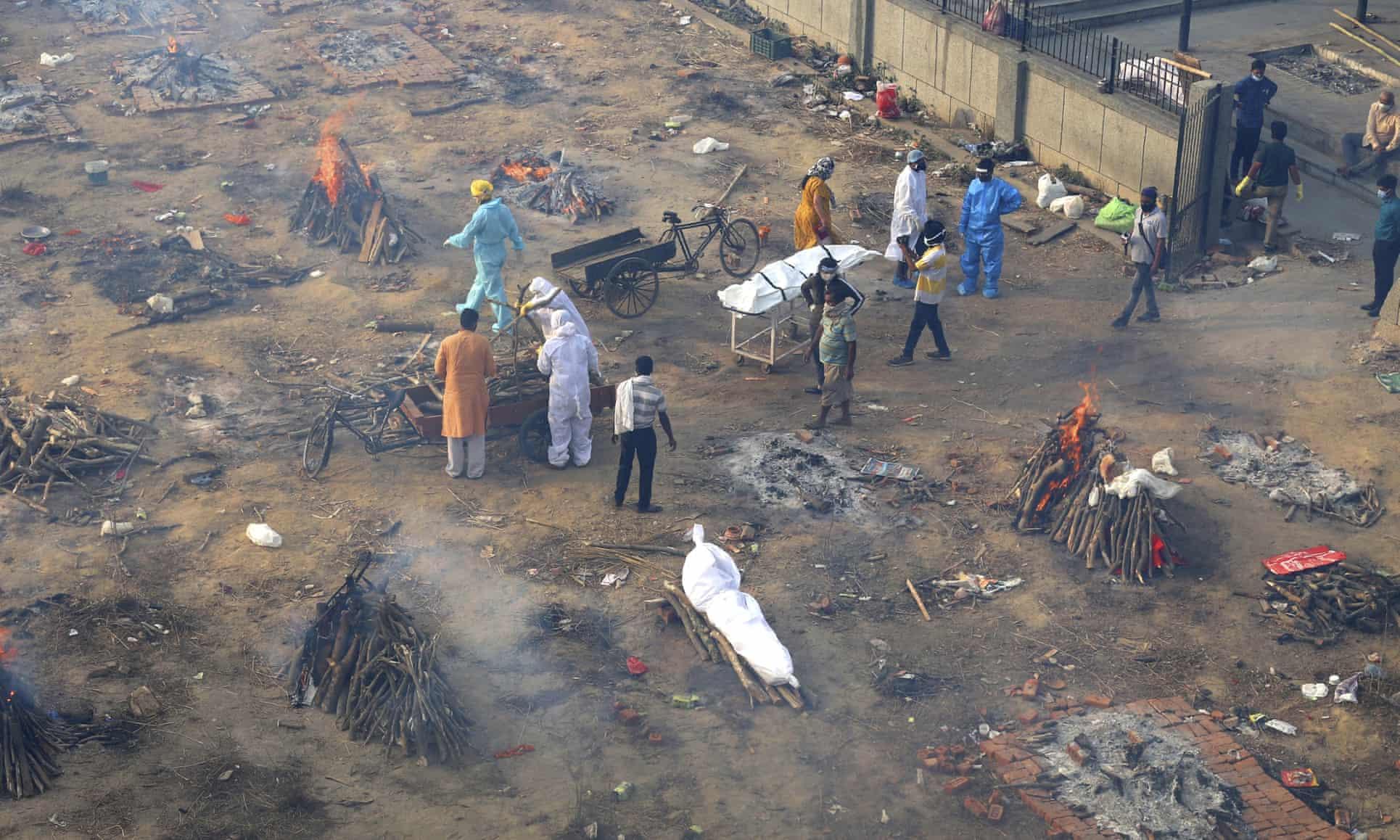 کمبود اکسیژن و تشدید بحران کرونا در هند