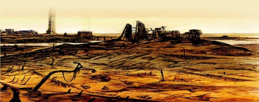 شهر ناراستین؛ فضا و انحطاطش در کتاب ارض اموات