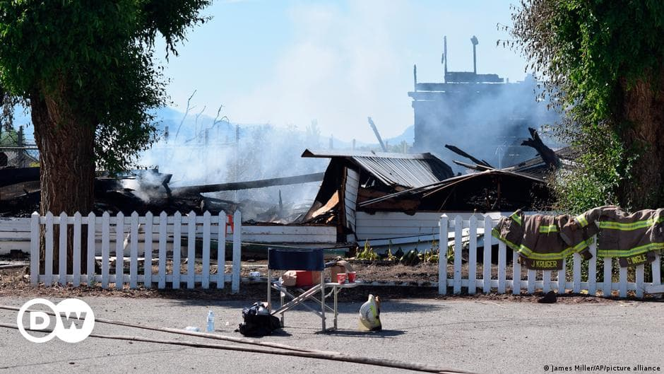 کلیساهای کاتولیک کانادا در آتش
