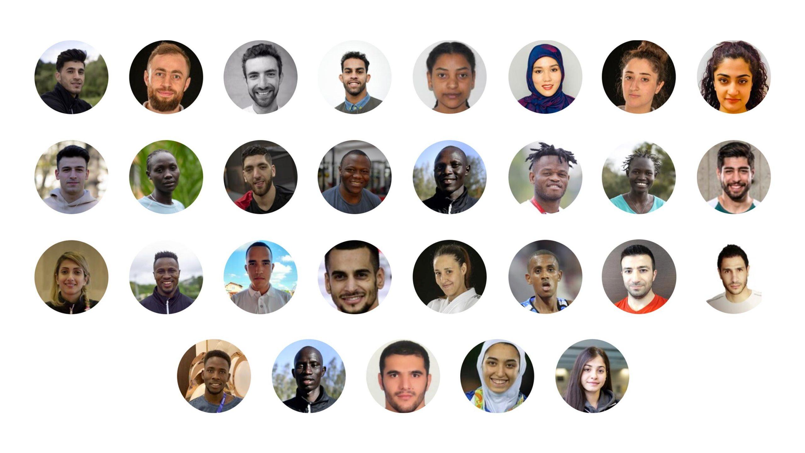 سوریها و ایرانیان بیشترین ورزشکاران تیم پناهندگان المپیک