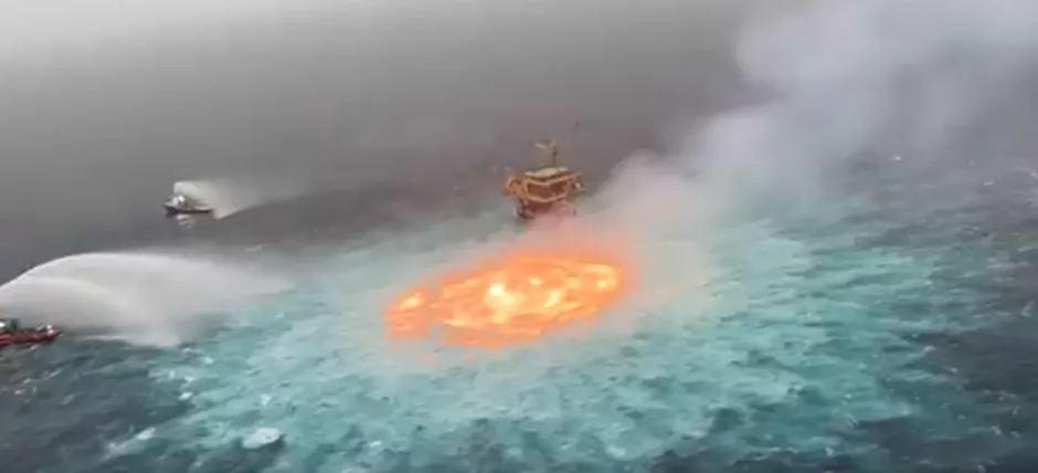 انفجار در خلیج مکزیک