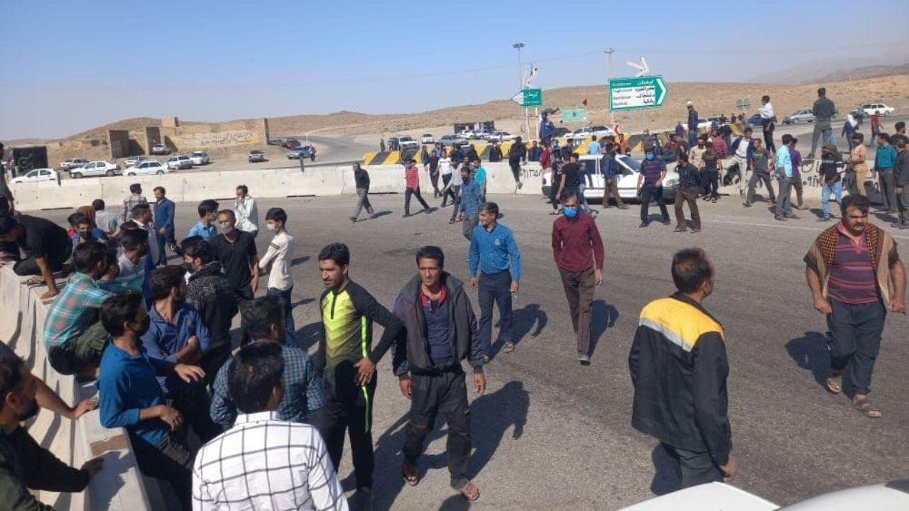 گسترش اعتراضات کارگران معادن خصوصی کرمان